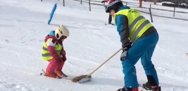 Jak nám šlo lyžování
