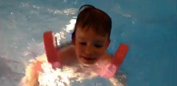 Náš malý plavec