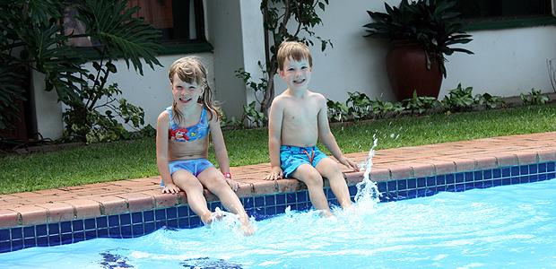 Nové místo, nový domov, nový bazén – St. Lucia