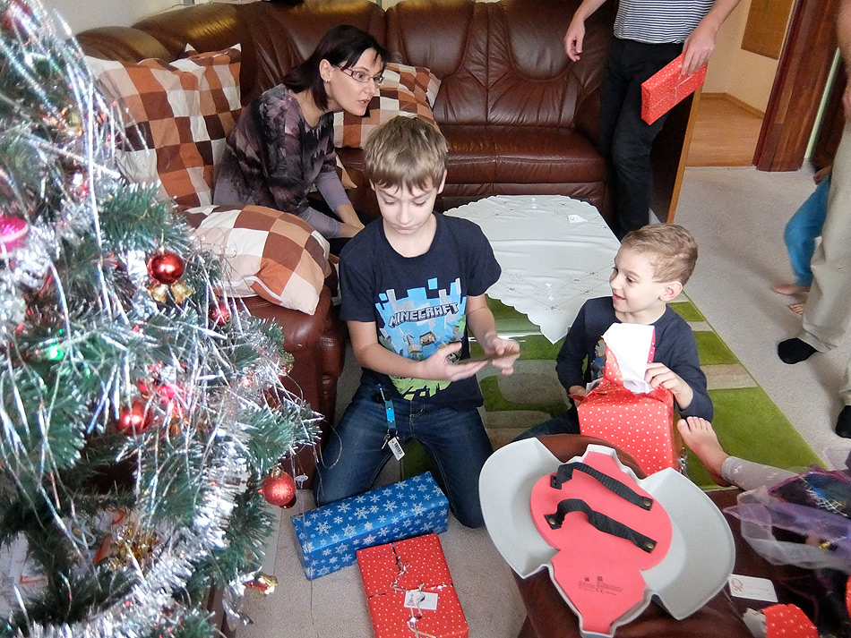 Vánoce u babičky