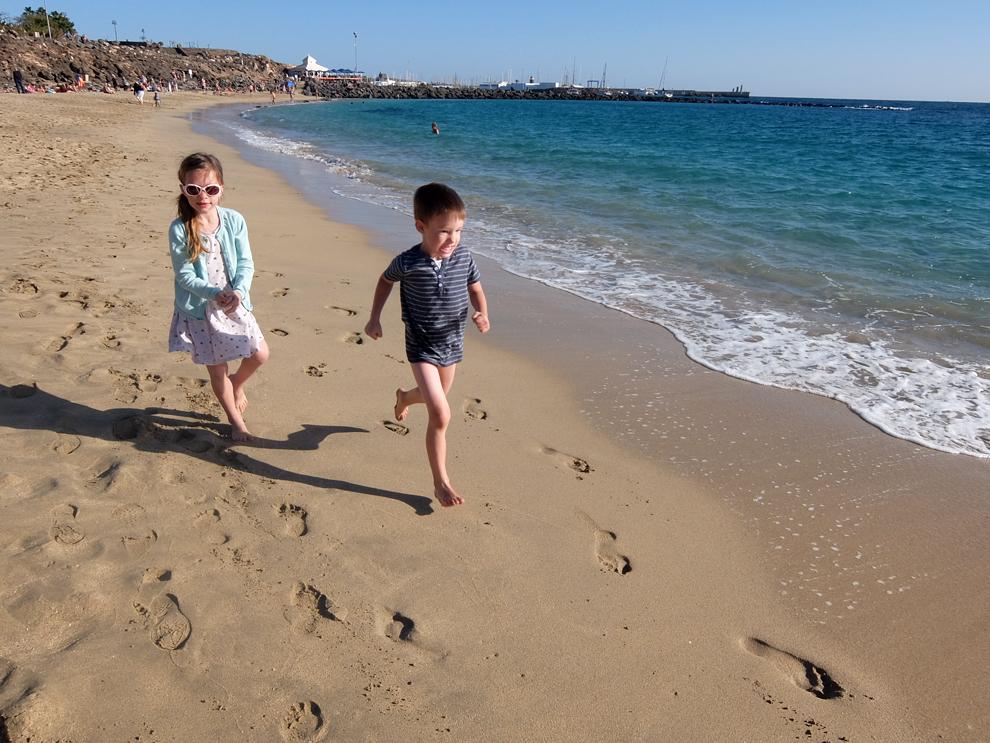 Lanzarote 2018 – týden první – Playa Blanca