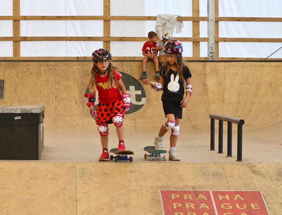 Mystic Skate park – příměstský tábor