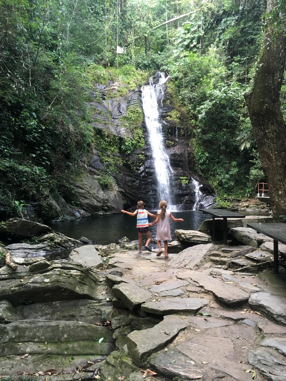 Maya King Waterfalls