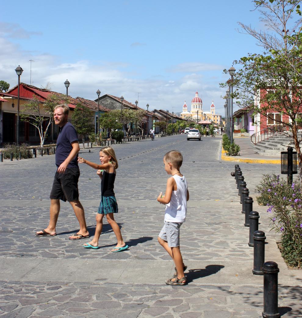 Nicaragua – Granada – den první: Las Isletas