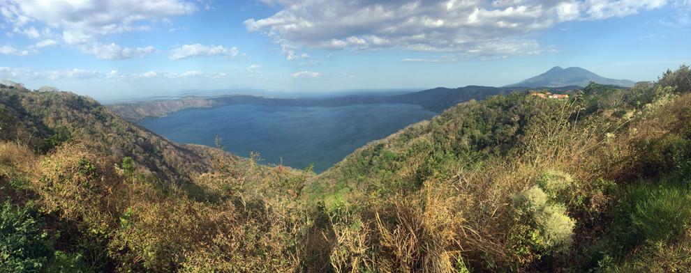 Nicaragua – Granada – den druhý: Laguna De Apoyo, Masaya Volcano