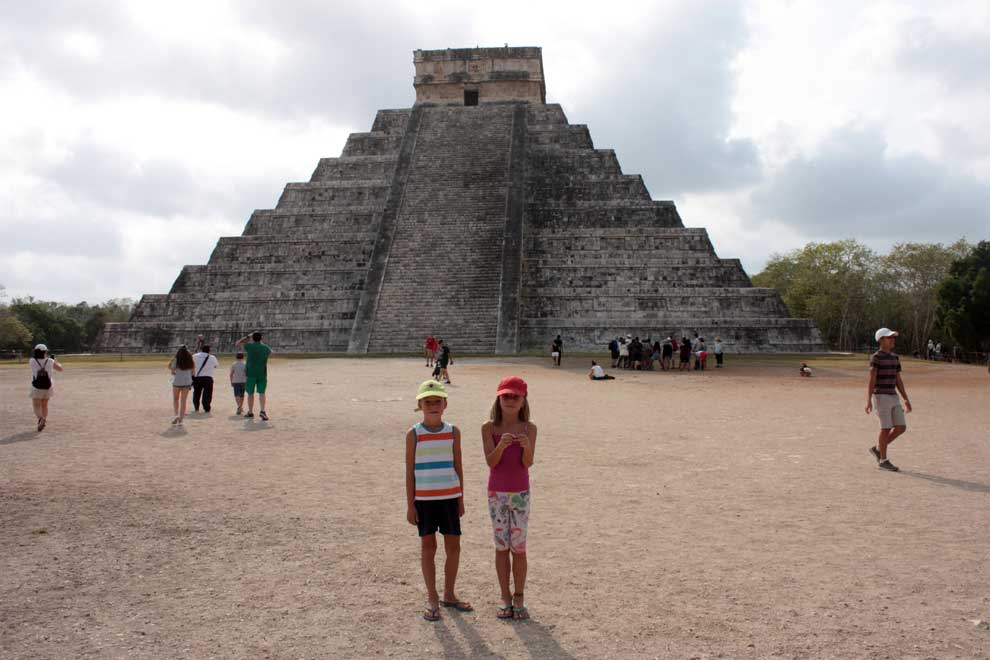 Mexiko – Chichen Itzá